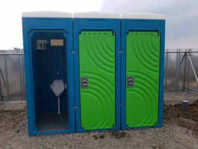 仮設トイレ・浄化槽設置工事